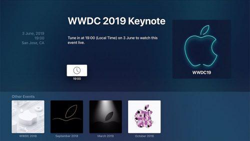 Apple Wwdc Keynote Apple Tv