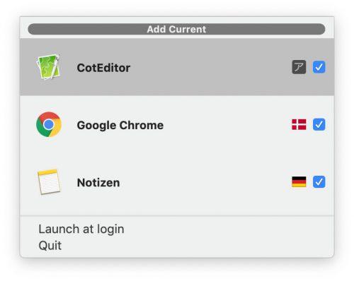 Apps Sprachen