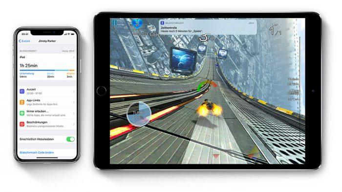 Bildschirmzeit Iphone Ipad
