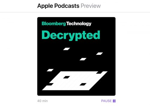 Bloomberg Podcast Decrypted