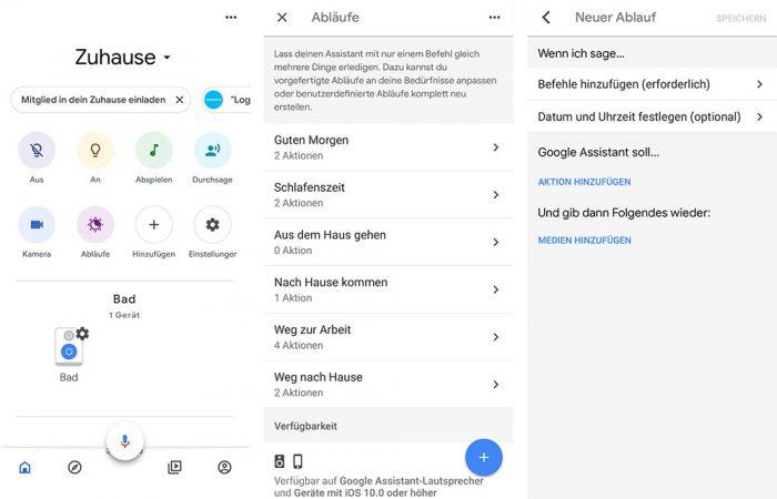Google Assistant Ablaeufe