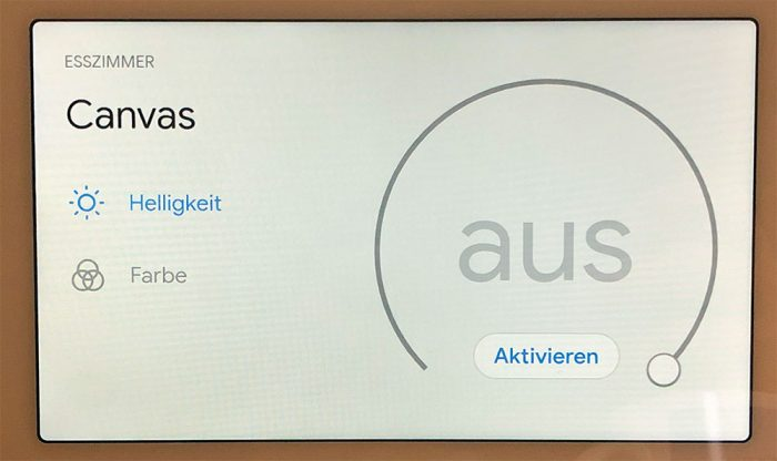 Google Assistant Smarthome Steuerung