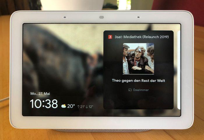 Google Nest Hub Chromecast Streaming
