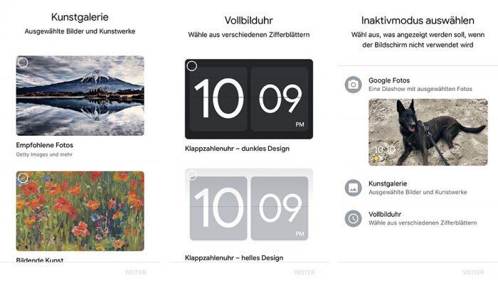 Google Nest Hub Hintergrundbild