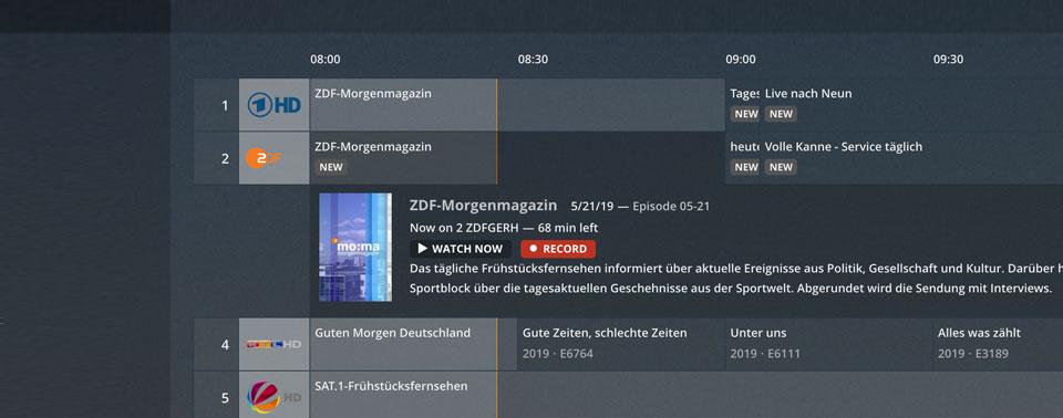 Plex: Kabel-TV-Aufnahme mit FRITZ!Box 6490