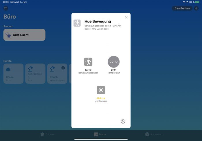 Homekit Ios 13 Neue Darstellung Sensoren