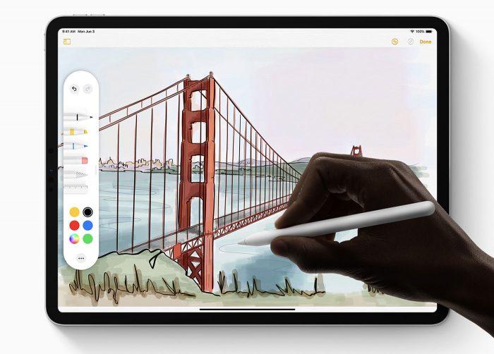 Ipad Stift Werkzeug Palette