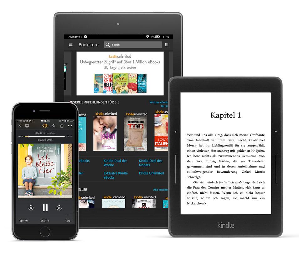Lese-Flatrate: Kindle Unlimited 3 Monate kostenlos › ifun.de