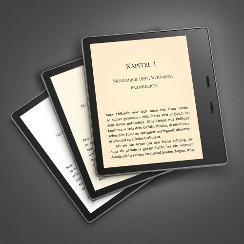 Kindle Oasis Farben