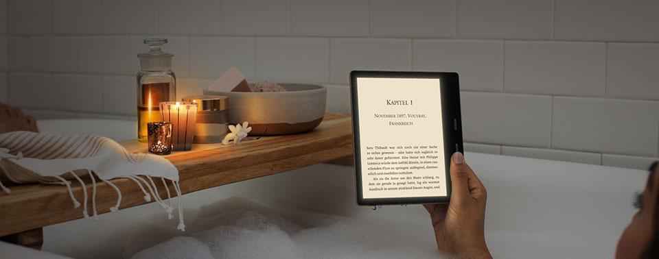 Kindle Oasis 2019: Jetzt mit verstellbarer Farbtemperatur