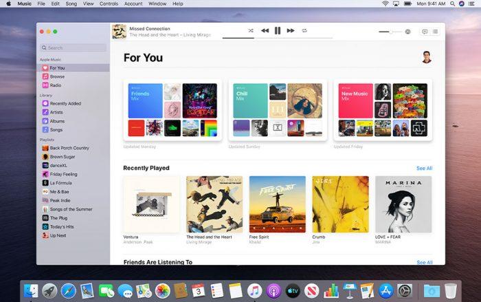 Macos Catalina Musik App