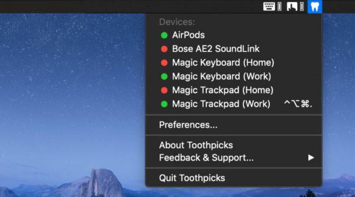 Toothpicks Mac App