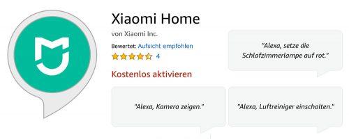 Xiaomi Skill