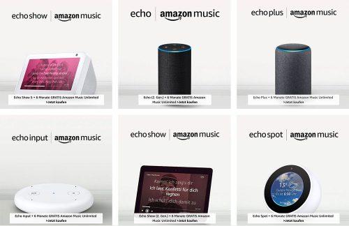 Amazon Music Unlimited Mit Echo Geraet