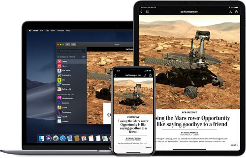 Apple News Plus Geraete