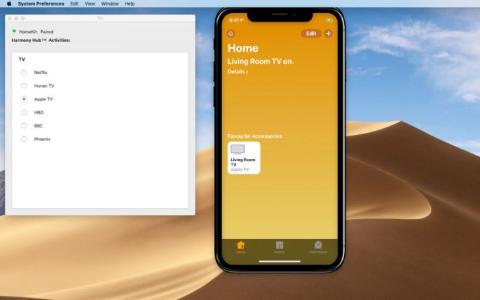 Harmony Hub App Mac