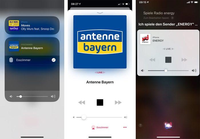 Homepod Siri Internetradio Deutsche Sender
