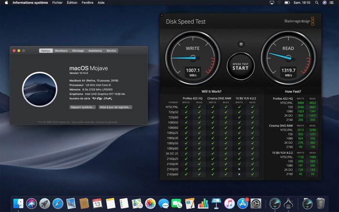 Macbook Air Benchmark