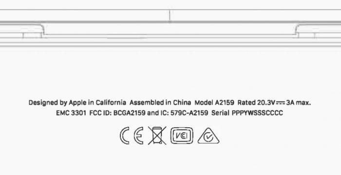 Macbook Fcc