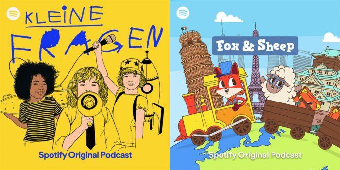 Podcasts Kinder Spotify