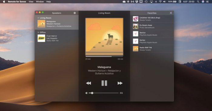 Sonos App Large