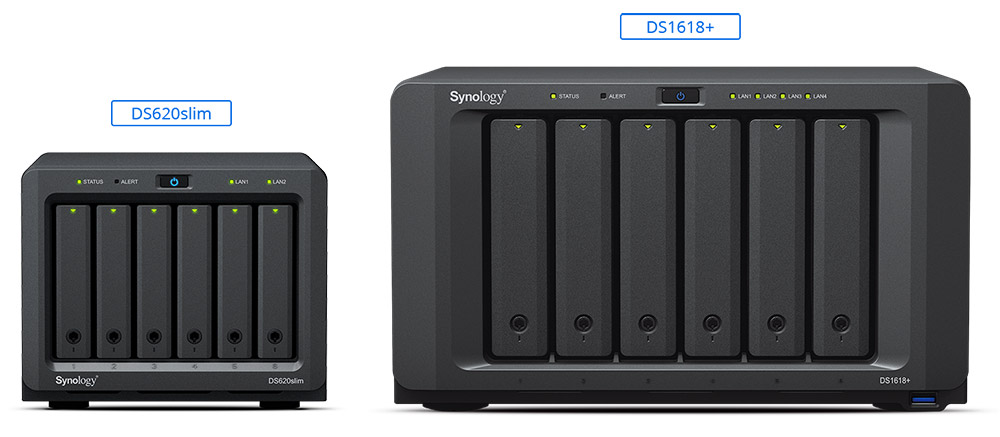 Synology DiskStation DS620slim: Leistungsfähiges Mini-NAS