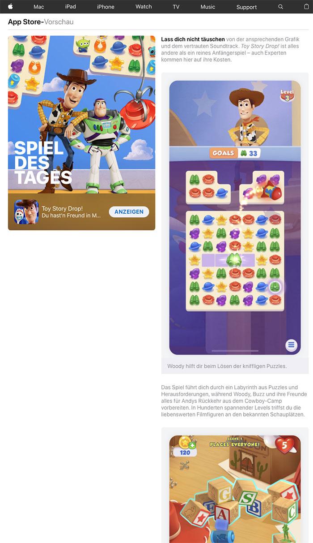 App Store Stories Im Webbrowser