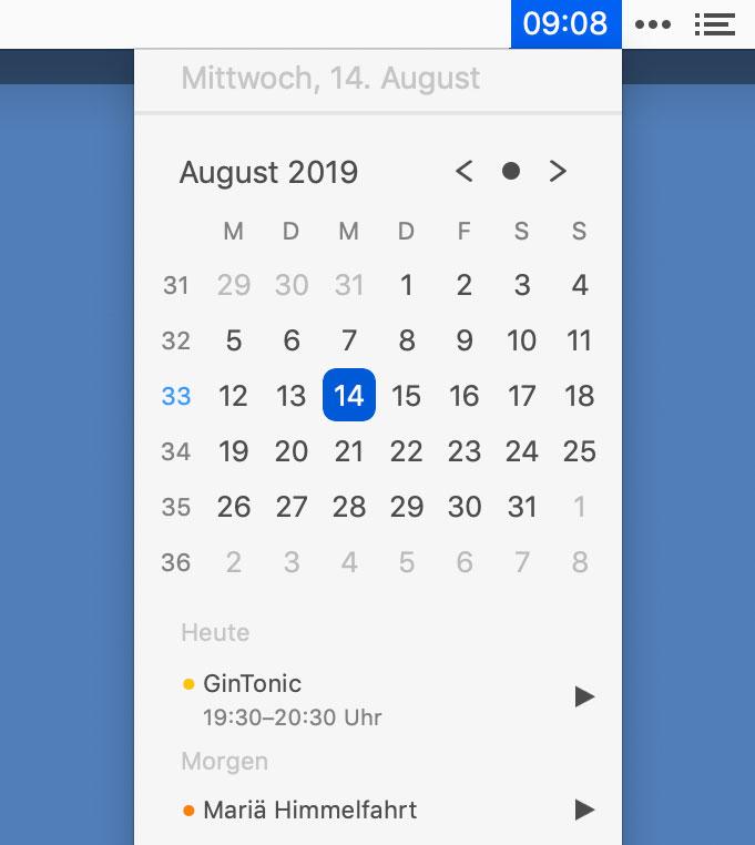 Dato Kalender