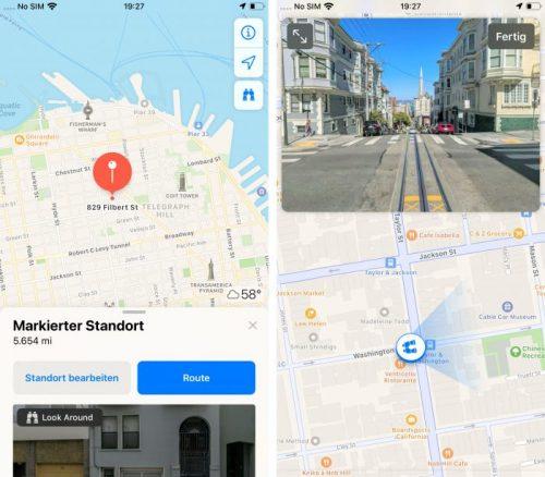Karte Street View 700x613