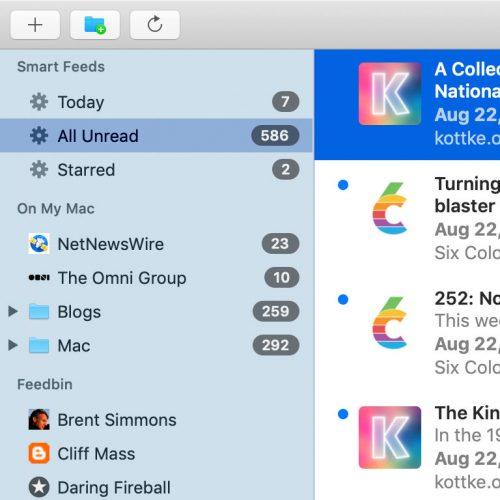 Netnewswire 5 Mac