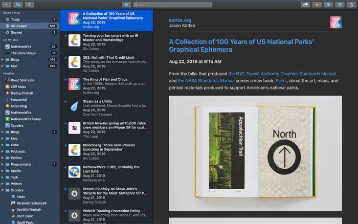 Netnewswire Mac 5