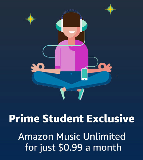 Prime Student Angebot Music Unlimited