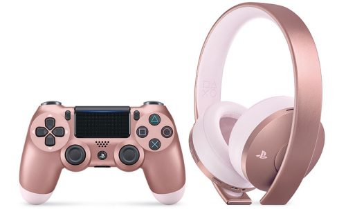 Ps4 Controller Rose Gold