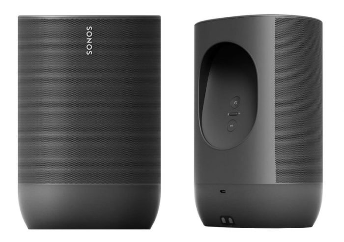 Sonos Move Front Rueckseite