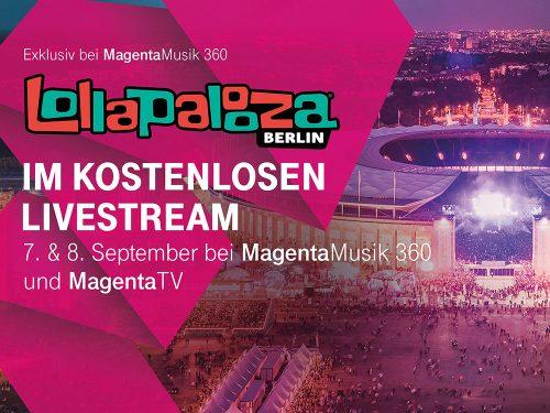 Telekom Lollapalooza Livestream