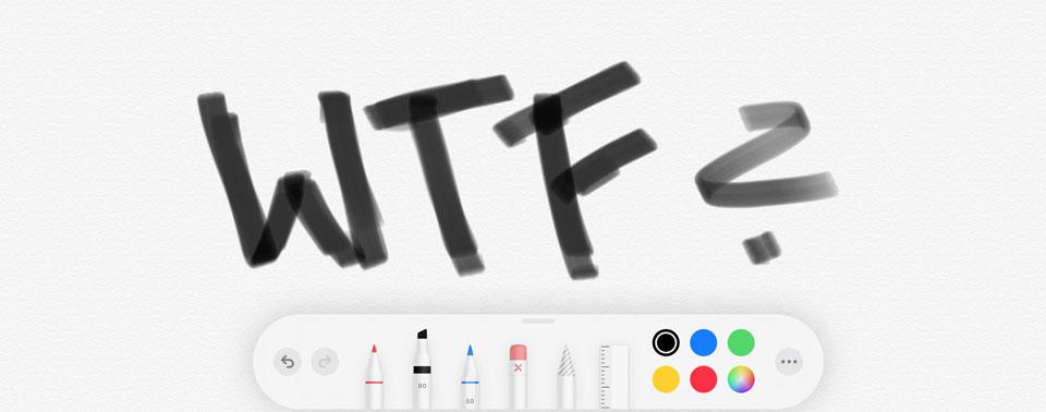 iPadOS: Handschrifterkennung blendet Schimpfwörter aus