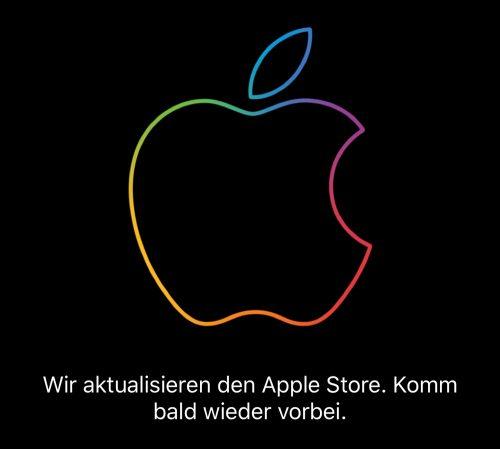 Apple Store Wird Aktualisiert