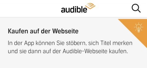 Audible Kauf