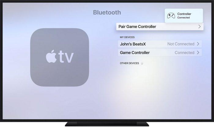 Controller Apple Tv