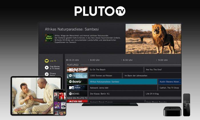 Pluto Tv Apple Tv Und Ios App