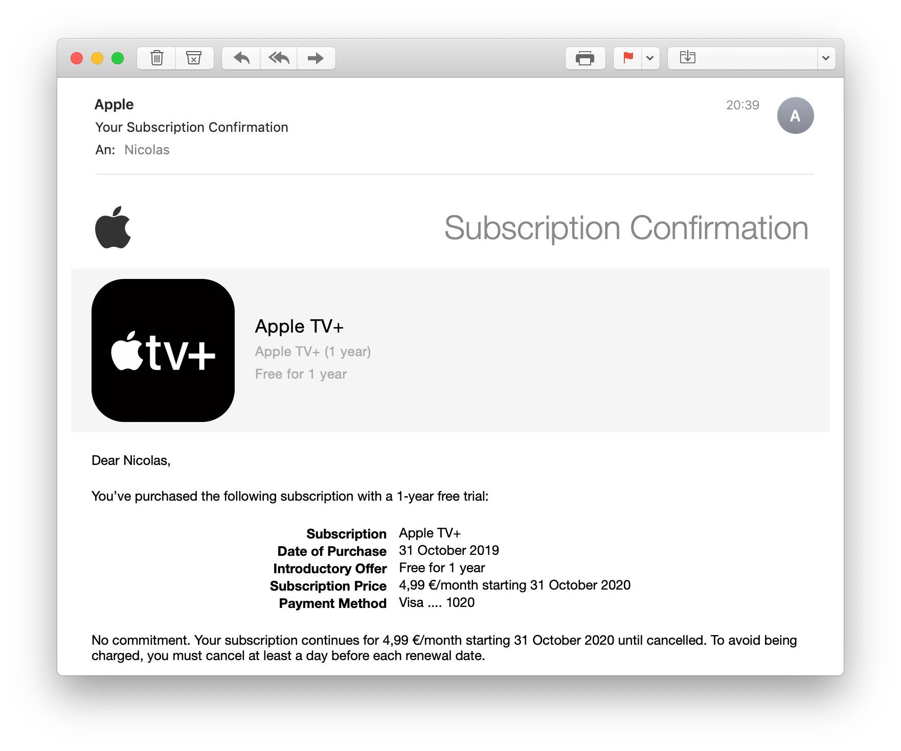 in app kauf stornieren apple