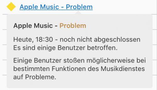 Apple Music Problem