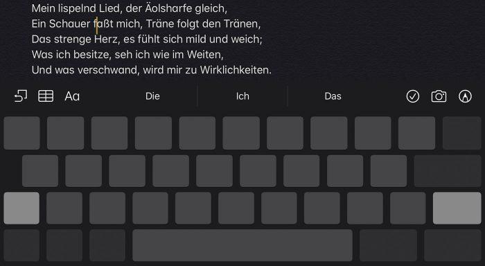 Ios Ipados 13 Tastatur Als Trackpad