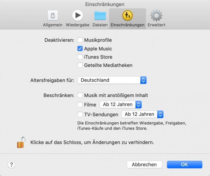 Macos Cartalina Musik App Apple Music Ausblenden