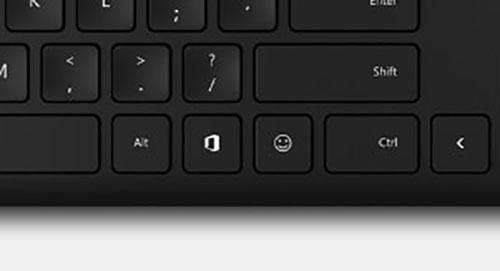 Microsoft Tastatur Mit Emoji Taste