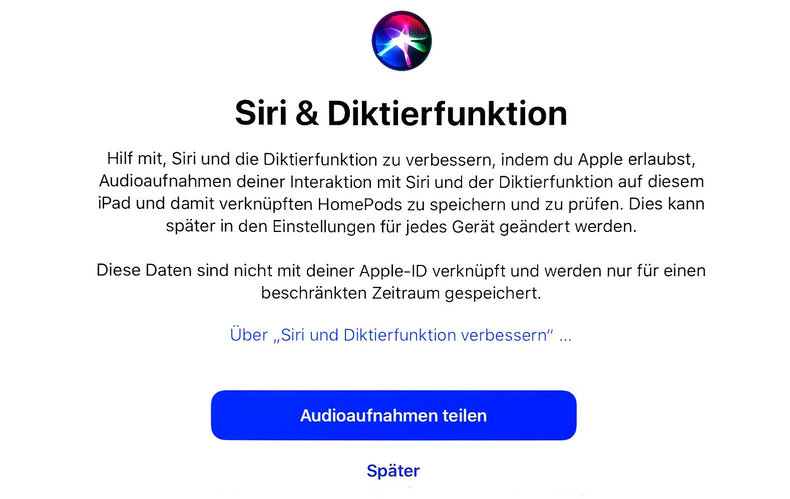Siri Datenschutz
