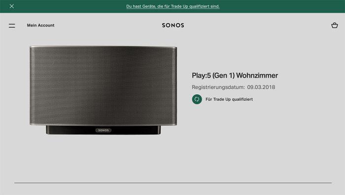 Sonos Trade In