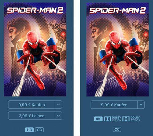 Spider Man 2 Hd Und 4k 500x444