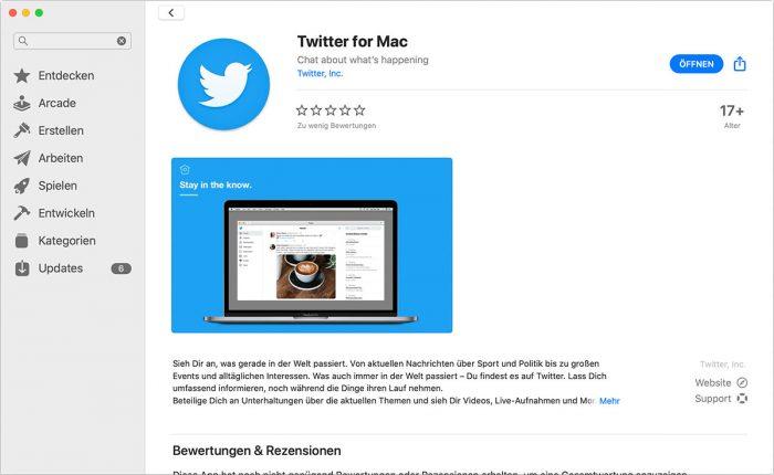 Twitter Fuer Mac Catalina