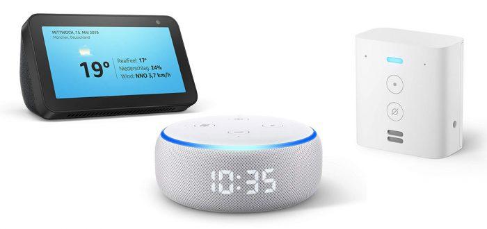 Amazon Echo Geraete